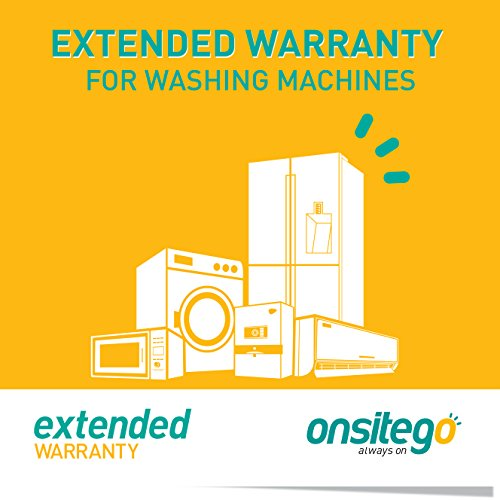 OnsiteGo 4 Year Extended Warranty for Washing Machines (Rs. 12,001 to Rs. 20,000)