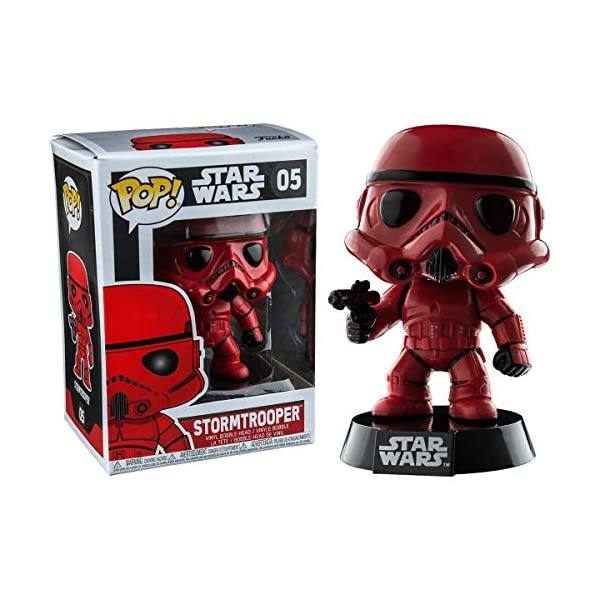 Funko Pop Stormtrooper Rojo (Star Wars 07) Funko Pop Star Wars