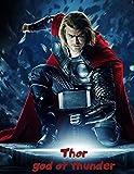 Thor: Blank Lined Superhero Gift Journal - Diary for Marvel Comics & Adventure Fans