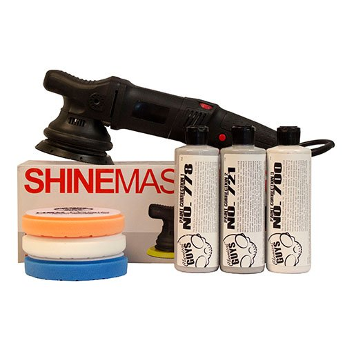 Krauss EXZENTER POLIERMASCHINE SHINEMASTER S15 Standard KIT (7 Items)