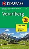 Vorarlberg: Wanderkarten-Set mit Naturführer. GPS-genau. 1:50000 (KOMPASS-Wanderkarten, Band 292)