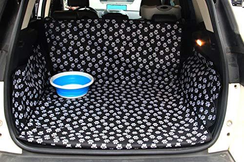 Pet Dog Trunk Cargo Liner - Oxford Auto SUV Sitzbezug - Wasserdichte Bodenmatte für Hunde Katzen - Waschbares Hundezubehör (Suv Sitzbezüge)