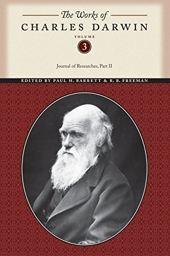 Works Charles Darwin Vol 3 CB: 003 (Works of Charles Darwin) by Darwin (1987-11-01)