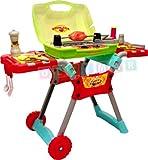 Barbeque-Gartengrill-mit-Licht-und-Sound-Kindergrill-Barbeque-Kinder-Grill-mit-Zubehr