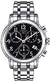 Tissot T050.217.11.052.00 - Reloj para mujeres, correa de acero inoxidable color plateado