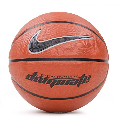 Nike Dominate (7) - Balón unisex, color naranja / negro, talla 7