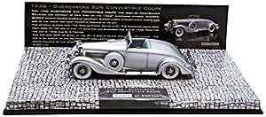 Minichamps - 437150330 - Véhicule Miniature - Modèle À L'échelle - Duesenberg Sjn Convertible - 1936 - Echelle 1/43