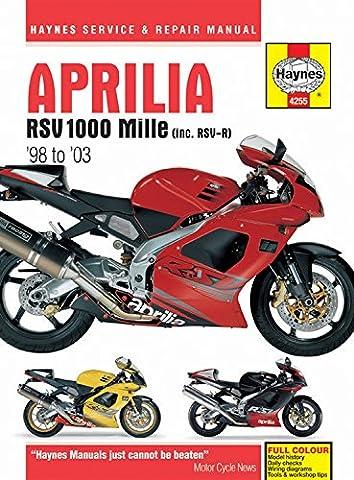 Aprilia RSV1000 Mille 1998 - 2003 (Haynes Service & Repair