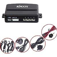 KKmoon Parking de Secours Renversé de Radar d'alerte Sonore + 4 Capteurs