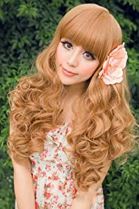 X&Y ANGEL- 2015 New Vintage Style Princess Fluffy Long Wave Healthy Wig K040