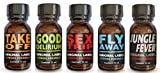 Set di 5Poppers Take Off + Good Delirium + Sex Trip + Fly Away + Jungle Fever immagine