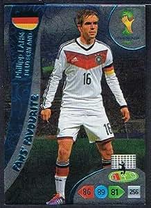 FIFA World Cup 2014 Brazil Adrenalyn XL Philipp Lahm Fans Favourite