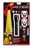 MagLite Taschenlampe LED ML25LT 2C-Cell Safety Pack 177 Lumen inkl. Batterien und Wandhalterung