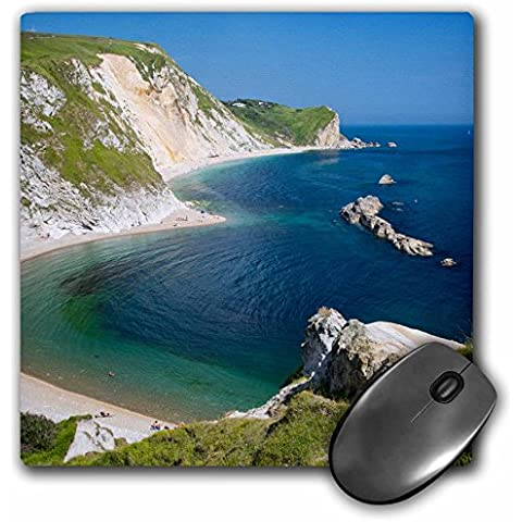 Danita Delimont - Coastlines - View above Man O War Bay along the Jurassic Coast, Dorset, England - MousePad (mp_209569_1)
