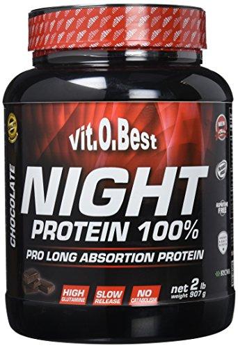 Vitobest Night Protein 100%, Aroma de Chocolate - 907 gr