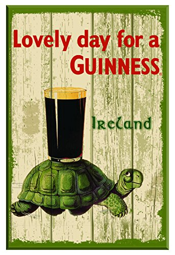 nostalgic-guinness-wooden-sign-with-tortoise-pint-lovely-day-for-a-guinness