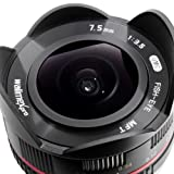 Walimex Pro 7,5 mm 1:3.5 CSC Fish-Eye Objektiv - 4