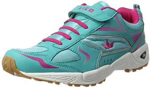 Lico Bob Vs, Scarpe Sportive Indoor Unisex – Adulto Blu (Tuerkis/pink)