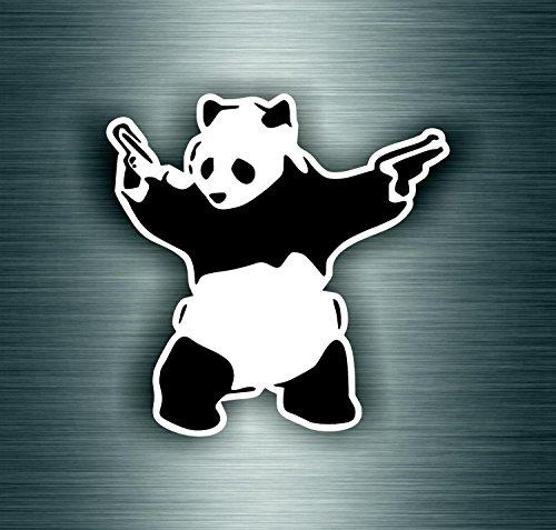 Preisvergleich Produktbild Aufkleber Sticker Auto Motorrad Banksy Panda Graphiti MacBook iPad JDM DRIFT R2