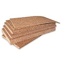 ARTIMESTIERI - NATURAL CORK panels all Thickness for thermal and acoustic insulation - 4cm - conf. da 4mq