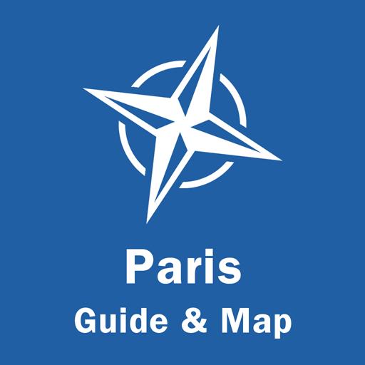 Paris Travel Guide & Offline Map