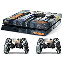 Skin PS4 HD TOM CLANCY'S THE DIVISION - limited edition DECAL COVER ADHESIVO playstation 4 SONY BUNDLE