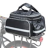 Cofit Bolsa para Maletero de Bicicleta, Bolso de Viaje Portátil Extensible para el Asiento Trasero de la Bicicleta Pannier de 25L