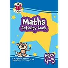 New Maths Activity Book for Ages 4-5: perfect for back-to-school practice