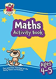 New Maths Activity Book for Ages 4-5: Perfect for Catch-Up and Home Learning