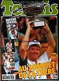 TENNIS MAGAZINE [No 196] du 01/07/1992 - ROLAND GARROS - JIM COURIER - MONICA SELES - STEFFI GRAF - HENRI LECONTE.