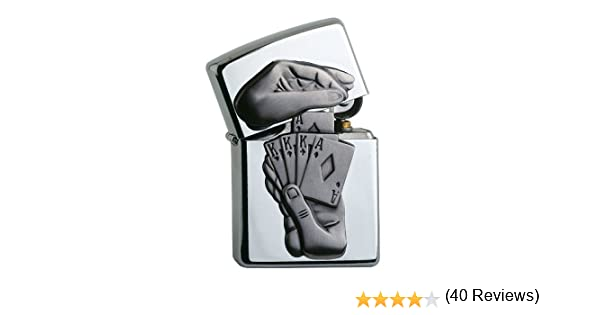 Zippo 60001208 Lighter Silver One Size Metal