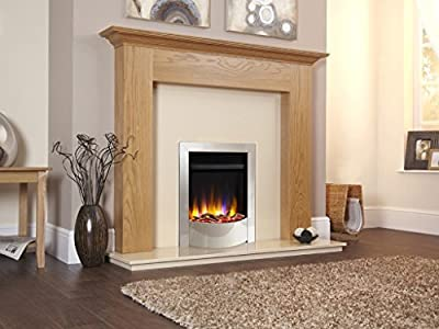 Designer Celsi Electric Fire- Ultiflame VR Endura Silver