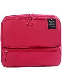 Glive's Multipocket Handbag Organizer Travel Bag Make-up Organizer Bag Hand Purse For Women