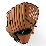 Guanto da Baseball Guanti da Baseball Nuovo Portatile Dark Brown Durable Men Softball Baseball Glove Giocatore Sportivo Preferito 12.5 Pollici