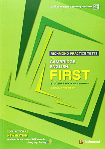 RICHMOND FCE PRACTICE TESTS SB WITH ANSWERS + Code NEW EDITION (Exams) - 9788466820257 por Aa.Vv.