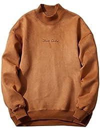 Venmo Herren Winter Fashion Schlank gestaltetes Top Strickjacke Mantel  Sweatshirt Kapuzenpullover Sweatshirt mit Kapuze streifenpullover… 67e8a51c97
