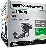 Rameder Attelage rotule démontable pour Peugeot 208 + Faisceau 13 Broches...