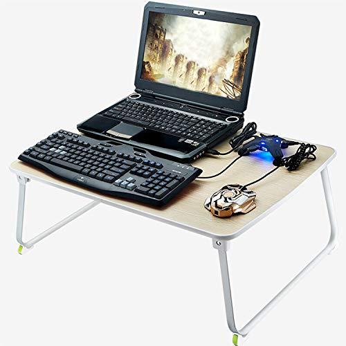 CJJC Mesa Plegable, portátil, de Escritorio portátil, Grande y portátil, Ideal para...