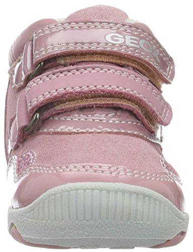 Geox Baby Mädchen B New Balu' Girl D Lauflernschuhe Pink (Dk PINKC8006)