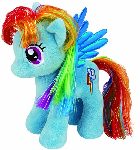 Peluche RAINBOW DASH 18cm da MY LITTLE PONY Mio Mini Pony UFFICIALE Ty
