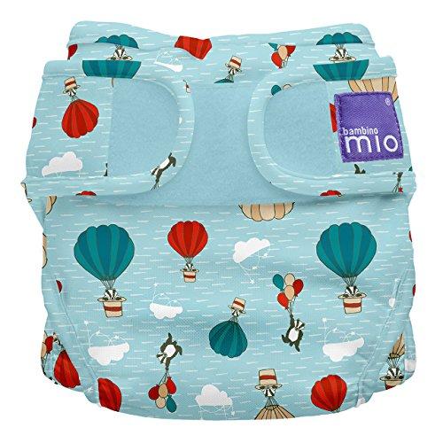 Bambino Mio Miosoft - Cobertor de pañal, diseño Surcaciles, talla 1, < 9 kg