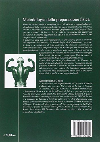Zoom IMG-1 metodologia della preparazione fisica