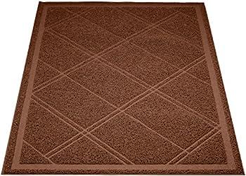 AmazonBasics - Tapis pour bac à litière, 61 x 88,9 cm, Marron