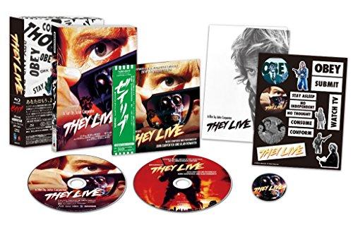Sie leben! - Exklusive Limited Edition (inkl. Soundtrack CD, Abzeichen, Merkblatt, Aufkleber + DVD) - Blu-ray (Merkblätter)