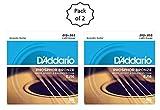 #6: D'Addario EJ16 Phosphor Bronze Acoustic Guitar Strings, Light, 12-53 (2 Pack)