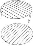 Andrew James Grillroste Backofenroste für 10-12 Liter Halogenöfen
