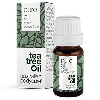 Australian Bodycare Tea Tree Oil (10 ml) - 100% reines Teebaumöl von Pharmaqualität, original Teebaumöl aus Australien. Vegan - gegen unreine Haut, Hautentzündungen und Anti Pickel