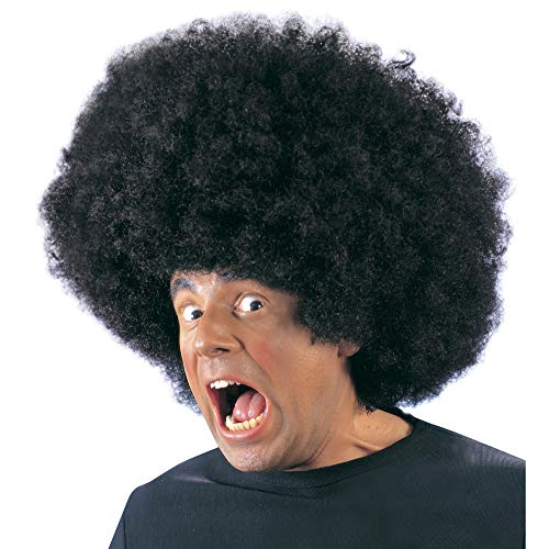 WIDMANN 6108J - Peluca a lo afro color negro