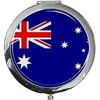 """metALUm - Extragroße Pillendose in runder Form""""Flagge Australien"""" preisvergleich bei billige-tabletten.eu"""
