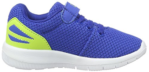 Kappa Trust, Sneakers Basses Garçon Bleu (Blue/lime)